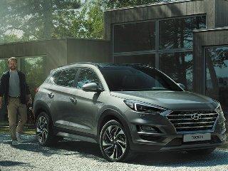Выход нового авто Hyundai Tucson