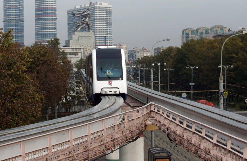 Москва реконструирует монорельсовую линию за 3,75 млрд рублей