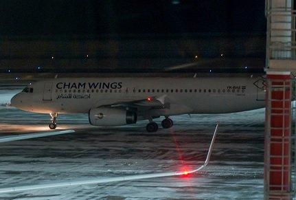 Шереметьево начал принимать самолеты из Дамаска