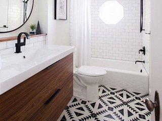Стильная ванная своими силами, как правильно выбирать плитку