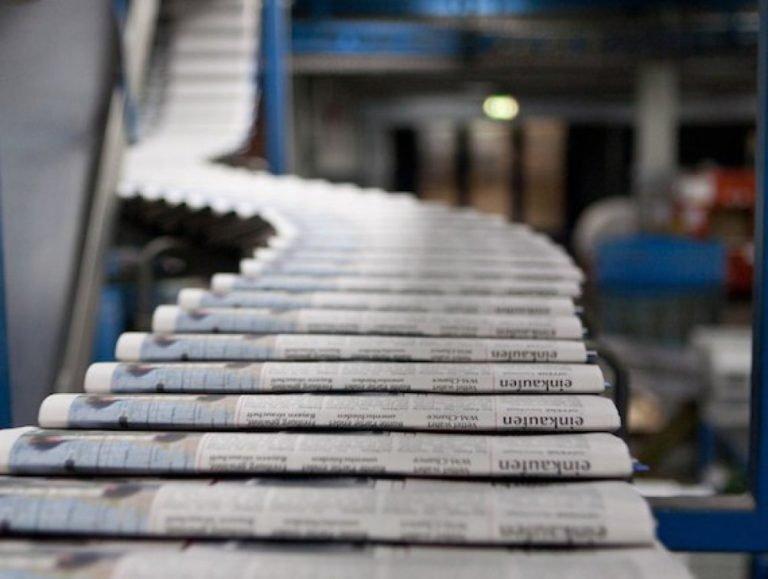 Издатели опасаются роста стоимости печатной прессы