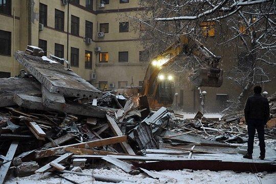 На месте офиса «Коммерсанта» появится жилой комплекс
