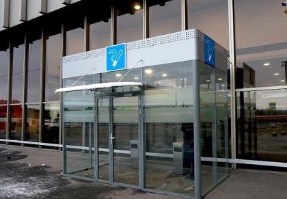 У терминалов Шереметьево появились комнаты для курения