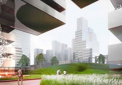 Проект застройки «Западного порта» разработают японские архитекторы