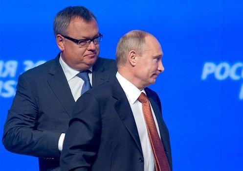 Костин считает несправедливым свое прозвище «банкир Путина»