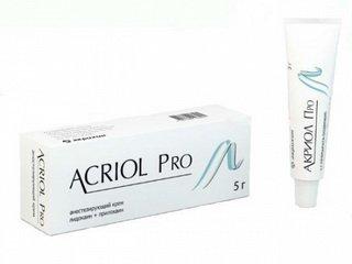 Анестезирующий крем Акриол Про: преимущества и особенности использования