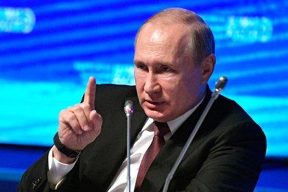 Путин объяснил, зачем уничтожаются подсанкционные продукты питания
