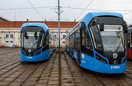 В Москве протестируют первый в стране беспилотный трамвай
