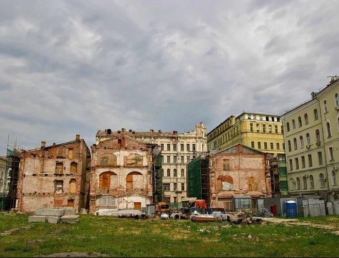 «Интеко» планирует выстроить комплекс элитных апартаментов недалеко от Кремля