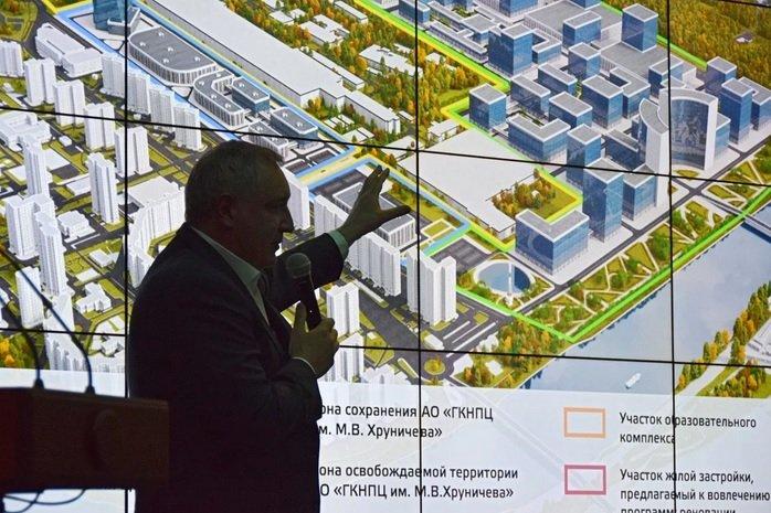 Москва может получить до 80 га земель Центра Хруничева