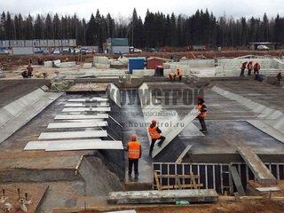 Особенности заливки бетона в ООО «Хоумстрой»