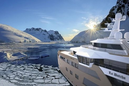 Тиньков разместил заказ на строительство первой в мире яхты-ледокола за 100 млн евро