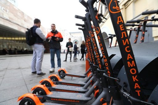 В Москве появятся парковки для самокатов нового типа