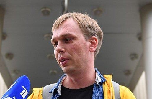 Голунов получил процессуальный статус свидетеля