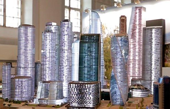 На MUF показали, как будет выглядеть «Москва-Сити»