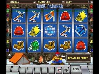 Игра в онлайн слот Rock Climber