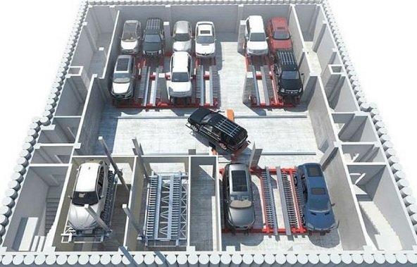 В Московской области появился ЖК с роботизированной парковкой