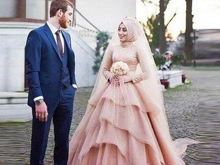 Как правильно выбрать свадебное платье для мусульманки?