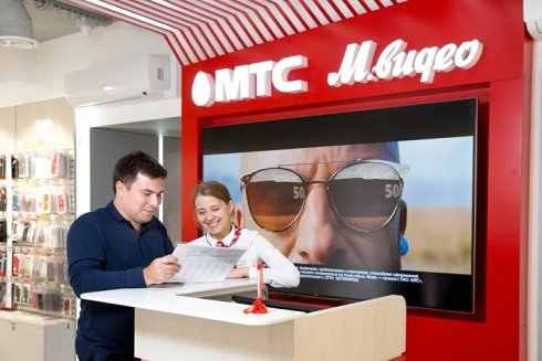 «М.Видео» договорилась с МТС о запуске кобрендинговых магазинов