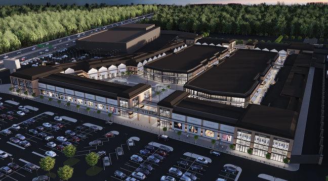 Hines строит на Новой Риге премиальный аутлет