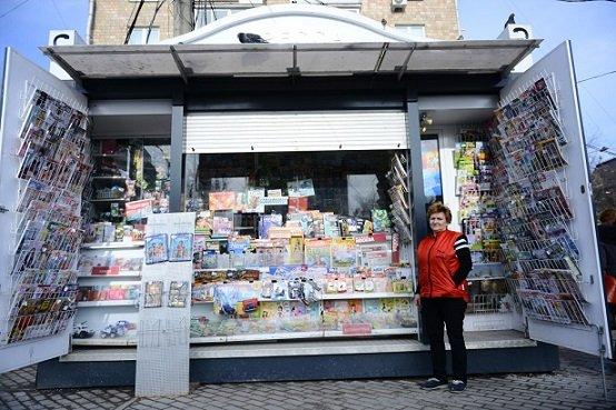 Мэрия раскрыла доходы от установленных в городе киосков