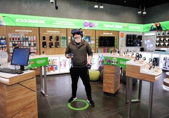 В Москве открылся первый магазин «МегаФона» с игровой зоной