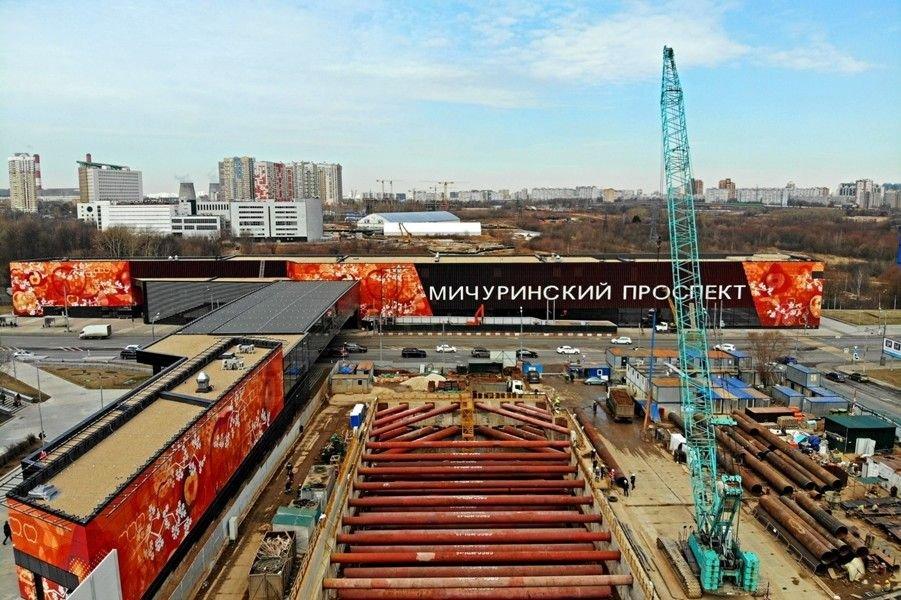 Корпорация «CRCC» получила 40% в проекте строительства ТПУ «Мичуринский проспект»