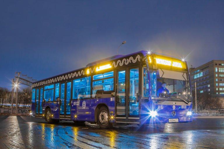 «Мосгортранс» оснастит автобусы системами интернета вещей
