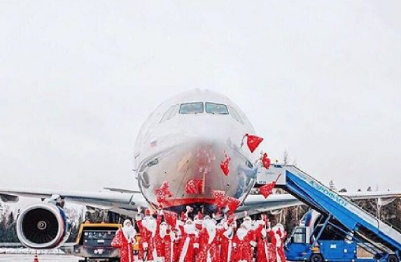 «Аэрофлот» намерен разыграть между пассажирами новогодних рейсов сертификаты на перелет