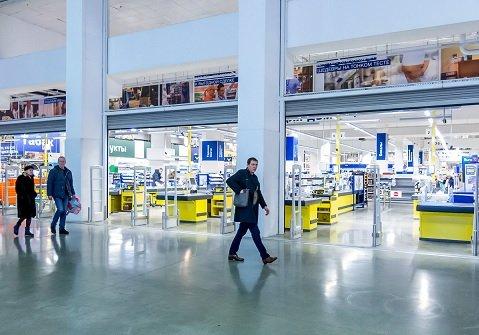 В России сократилось количество гипермаркетов