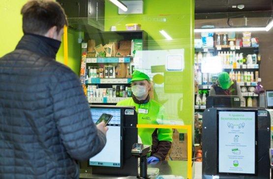 В магазинах «Вкусвилл» появились защитные экраны