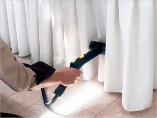 Качественная химчистка штор с выездом на дом