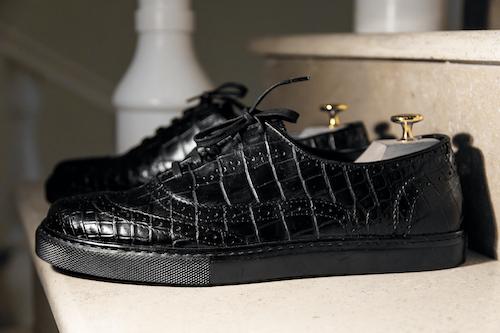 Каждую модель туфель в Мастерской Классического костюма создают для клиентов с нуля