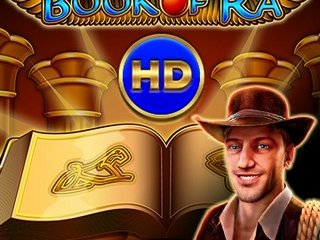 Игра на деньги на слоте Book of Ra HD