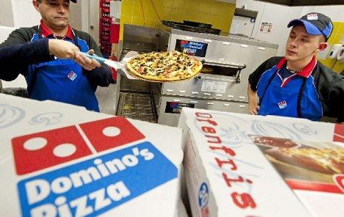 В России начали закрываться рестораны Domino's Pizza