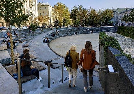 В Москве открылись общественные пространства