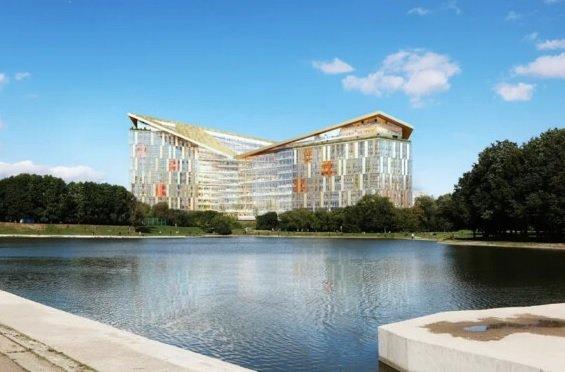 «Яндекс» обнародовал проект своего нового офиса
