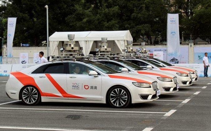 В Россию выходит китайский агрегатор такси «DiDi»