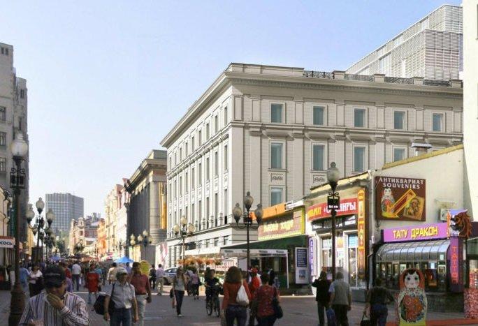 Корейский культурный центр приобрел 2,7 тыс кв м офисов на Арбате