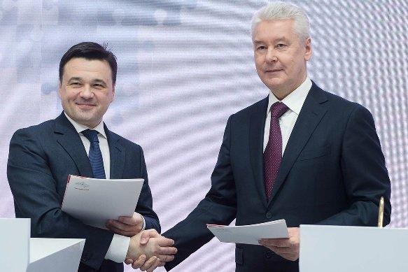 Объединение транспортных систем Москвы и Подмосковья будет завершено в январе следующего года