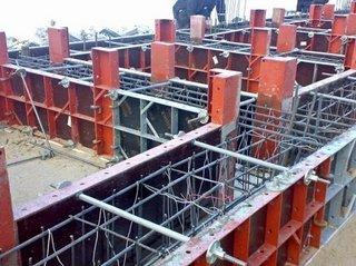 Структура опалубки для монолитного строительства