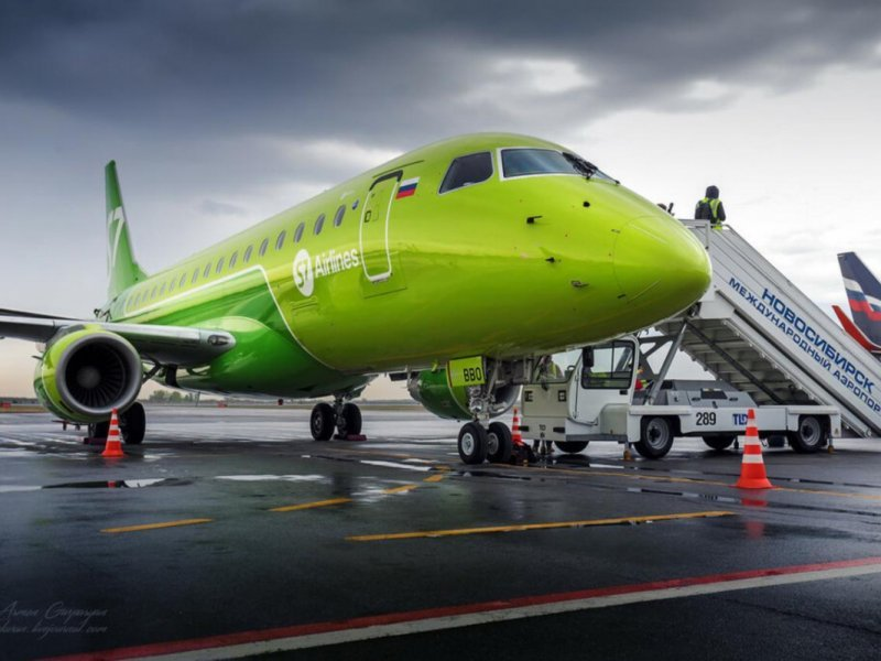 «S7» предложила услугу онлайн-бронирования самолетов