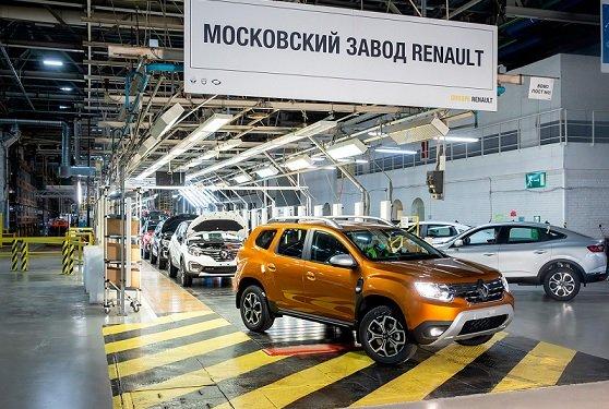 В Москве наладили выпуск Duster второй генерации