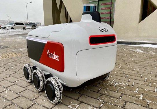 Клиентам «Яндекс.Лавки» стала доступна услуга доставки заказов роботами