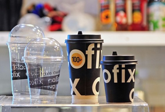В Москве открылось стрит-фуд кафе Cofix