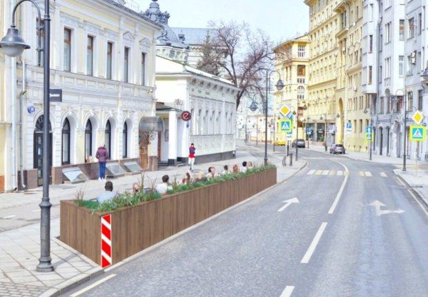 Московские рестораторы хотят использовать часть парковок для размещения летних кафе