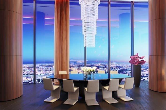 Компания, подконтрольная столичному правительству, приобрела люксовые апартаменты в башне «Федерация»