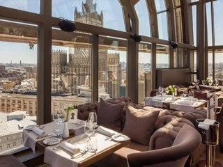 Панорамные рестораны Москвы