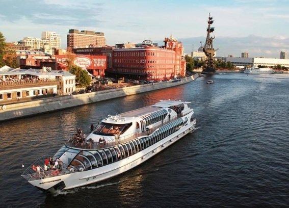 В Москве запустят два экспериментальных маршрута речного транспорта