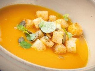 Суп из тыквы — красочно, вкусно и полезно